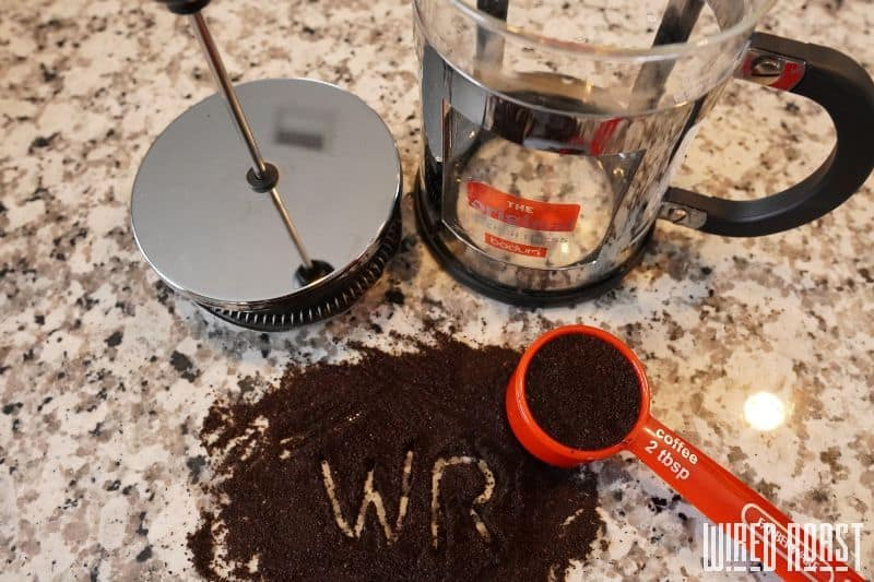 Step 1 - Measure and Grind the Beans