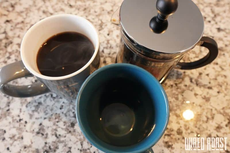 Step 7 - Decant the Coffee